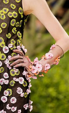 #LivingLifeInFullBloom #fashion #Christian Dior - Haute Couture Spring 2013