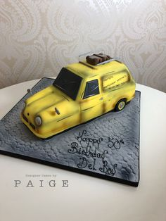 Novelty only fools and horses car cake Horse Birthday, Birthday Cake, Only Fools And Horses, Horse Cake, Cake Designs, The Fool, Car, Automobile, Birthday Cakes