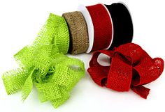 Nashville Wraps burlap ribbon...  http://www.nashvillewraps.com/ShowSearch.ww?query=burlap #burlapribbon #wholesaleburlapribbon