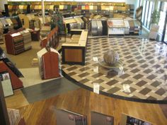 flooring showrooms | ... flooring) help to make our showroom the absolute  best. Showroom IdeasFlooring