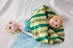 Disney Parks Frozen Anna Elsa Flip 2 in 1 Topsy Turvy Reversible Plush Doll #Disney