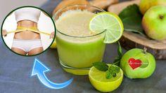 Suco de Maçã com Limão Para Emagrecer Com Saúde