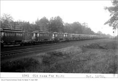 When Haileybury burned, Toronto sent streetcars - Spacing Toronto Ottawa River, Meteorology, Main Street, Quebec, Cobalt, Ontario, Burns, Past, Toronto