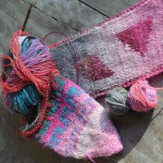 Beautiful Noro Silk Garden yarn...