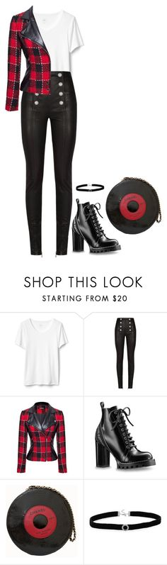 """My life is Rock and Rool"" by mprocedi on Polyvore featuring moda, Balmain, WithChic, Chanel e BillyTheTree"