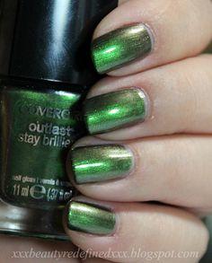 Cover Girl Emerald Blaze Nail Polish