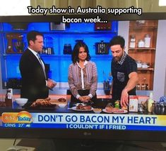 We love bacon. | 26 Photos That Prove Australians Have The Best Sense Of Humour On Earth