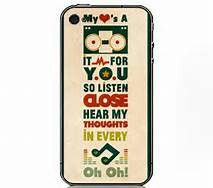 Stereo Hearts lyrics on a PHONE CASE???