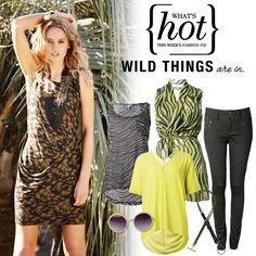 What's Hot this week - Wild things are in. #safari #fashion #summer #2013