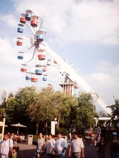 great america illinois photos | The Sky Whirl at Six Flags Great America, Gurnee, Illinois