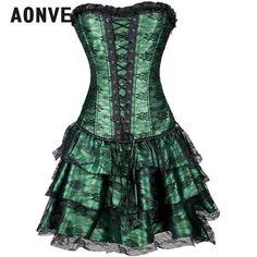 Steampunk Burlesque Corset Dress