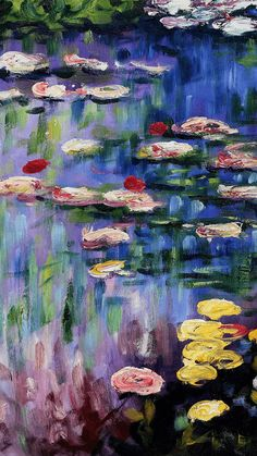 Awesome Monet Water Lilies Wallpapers - WallpaperAccess