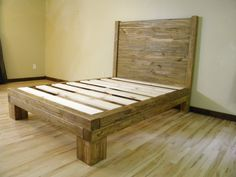Platform Bed Platform Beds Bed Frame Reclaimed by JNMRusticDesigns