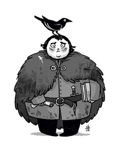 hodor hodor hodor | Verabee :: Samwell Tarly fan art :: ASOIAF :: Game of Thrones :: ADORABLE