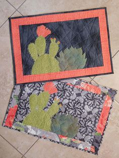 I love these placemats! #quilts #quilting #miniaturequilts #pattern #affiliate