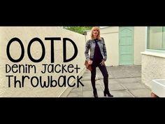 OOTD Denim Jacket Throwback | MICHELA ismyname ❤️