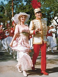 Shirley Jones and Robert Preston in The Music Man.  (I know this is from the movie not the Broadway show - good picture though.)