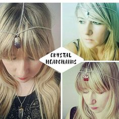I LOVE custom requests for making Crystal Headchains 💖 Headchains start at £10 upwards and can be requested through my Etsy page.   www.jillyscrystals.etsy.com   💎I post internationally💎