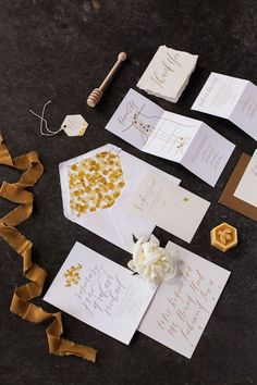 Honey Themed Farm-to-Table Kansas City Wedding Inspo Boho Wedding, Summer Wedding, Wedding Day, Wedding Jewelry, Bee Invitations, Wedding Invitations, Invite, Kansas City Wedding, Wedding Details