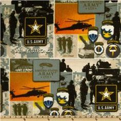 United States Army Fleece Tie Blanket- US by BlanketsUnlimited, $59.00