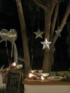 outdoor party decor