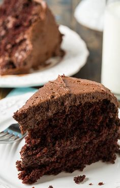 Duke's Chocolate Mayonnaise Cake - a southern favorite that's so moist and rich!