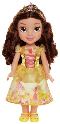 Buy Disney Toddler My First Princess Toddler Belle from our Dolls, Doll Houses & Doll Prams range at John Lewis & Partners. Belle Toddler Doll, Disney Princess Toddler Dolls, Disney Princess Rapunzel, Disney Dolls, Embellished Gown, Baby Jogger, Fashion Royalty Dolls, Beauty And The Beast, Pop