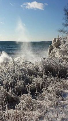 Iced from Lake Superior. Cool! #MSPDestination
