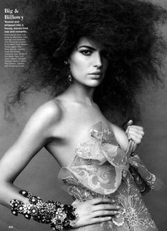 Hair stylist Shay Ashual - model Cameron Russel - photographer Greg Kadel - Allure magazine's March 2012 issue ill take it all and jewerly too if done is the best materials and not costumey, looks tad costumey Hair Styles 2014, Curly Hair Styles, Natural Hair Styles, Dreads, Big Hair, Your Hair, Afro, Hair Mist, Long Brunette