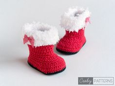 crochet Girls Fur Flap Baby Booties pattern Girls Fur Flap Baby Booties – Share a Pattern Knit Baby Shoes, Crochet Baby Boots, Booties Crochet, Crochet Girls, Crochet Baby Clothes, Crochet Baby Blanket Beginner, Baby Knitting, Baby Patterns, Crochet Patterns