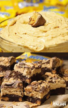 Looking for an easy no-bake dessert to make with your favorite candy bar? There are so many options to choose from! Whether it's Butterfinger Candy Bar Frosting or Outrageous Butterfinger Brownies, you'll find the perfect sweet treat to satisfy your cravings. Click on the link for recipes featuring the crispety, crunchety, peanut-buttery taste of BUTTERFINGER® candy bars.