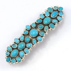 Sleeping Beauty Turquoise Barrette