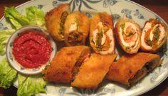 Thịt gà cuộn rau củ chiên giòn | Món ngon mỗi ngày | Món ăn ngon | Món ngon Việt Nam