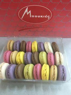 Macaron σε γεύσεις, με γέμιση, με χρώμα !!!