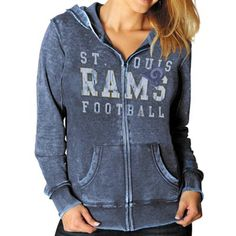 LIMITED TIME: All sweatshirts, jackets and hats are marked down 15-40% at Fanatics. Get this sweatshirt for only $55.21: http://pin.fanatics.com/NFL_St_Louis_Rams_Ladies/St._Louis_Rams_Sport_Princess_II_Burnout_Heather_Full_Zip_Hoodie_-_Navy_Blue/source/pin-rams-sweats-sale-sclmp