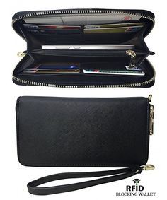 Buy Womens Classic Clutch Synthetic Leather Long Wallet Card Holder Purse Handbag - Black - and More Fashion Bags at Affordable Prices. Fall Handbags, Hermes Handbags, Luxury Handbags, Black Handbags, Purses And Handbags, Leather Handbags, Cheap Purses, Diy Handbag, Purse Styles