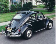 1954 VW Beetle Ragtop #vintage #volkswagens #baroquenoise