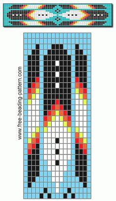 free-beading-pattern-barrette-broad-arrows