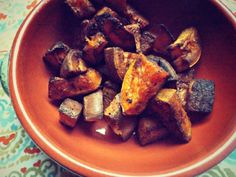 Roasted Garam Masala Sweet Potatoes