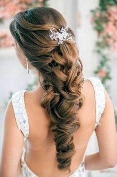 long hairstyles wedding