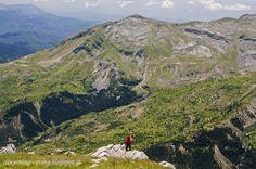 View from Kruakouras peak