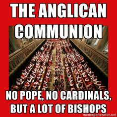 The #Episcopal Church is a member of the Anglican Communion. Actually, it's a province of the Anglican Communion: http://www.anglicancommunion.org/tour/