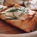 Recipe photo: Ligurian chickpea flatbread with rosemary