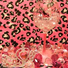 Polka  - Princess Wineglass With Shoe, $23.00 (http://stores.polkatheprincess.com/princess-wineglass-with-shoe/)