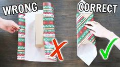 Life-Changing Gift Wrapping Hacks : Want some tips for wrapping your Christmas presents? Struggling to wrap all your gifts? My life hacks for wrapping are gunna change yo life! Learn how to use… Christmas Gift Wrapping, Holiday Fun, Christmas Holidays, Christmas Hacks, Christmas Gift Ideas, Diy Christmas Presents, Christmas 2019, Christmas Present Wrap, Mason Jar Christmas Gifts