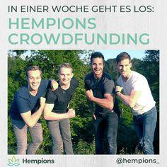 In 1 Woche starten das Hempions-Crowdfunding: ZIEL: 25.000€ WARUM? für regionalen Anbau und mehr vitale Geschmackserlebnisse aus Hanf FÜR DICH: gibt es Vorteils-Pakete,Neuheiten einen Skitag mit Daniel Meier.  Näheres dazu: Meier, Sprouts, Blog, Hemp Seeds, News, Blogging, Brussels Sprouts