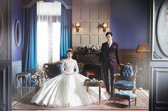 Korean Studio Pre-Wedding Photography: 2016 Romantic Vintage Collection  by Bong Studio on OneThreeOneFour 2
