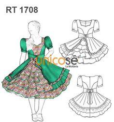 VESTIDO DE HUASA Cinderella, Disney Characters, Fictional Characters, Square Dance, Disney Princess, Sewing, Frocks, Ruffles, Patterns