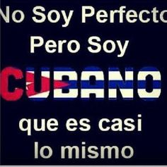 Proud Cuban