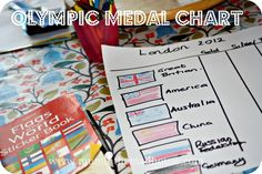 Make your own Olympic medal chart. Help your kids celebrate the olympics whilst learning about the flags of the world by making their own medal chart Olympic Medals, Olympic Sports, Kids Learning Activities, Play Based Learning, Fun Learning, Olympic Crafts, Summer Fun For Kids, Olympic Committee, Fiestas
